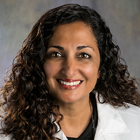 Dr. Rita Patel, program director at Ascension St. Vincent Pediatric Residency Program, located at Peyton Manning Children's Hospital in Indianapolis, Indiana.