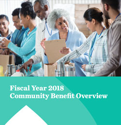 FY 2018 Community Benefit Overview Cover