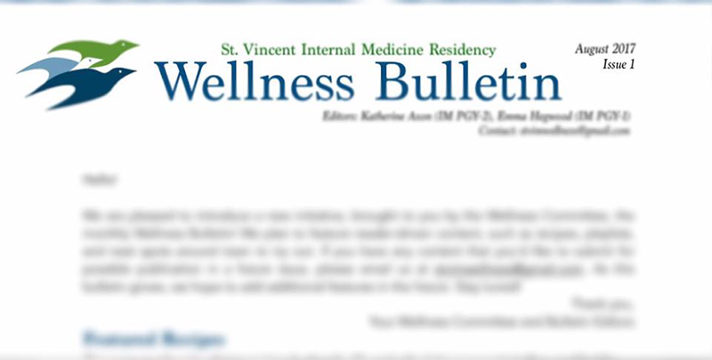 wellness bulletin image