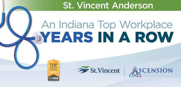 St. Vincent Anderson - An Indiana Top Workplace 8 Years in a Row